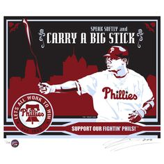 Celebrate your favorite MLB player with the MLB Philadelphia Phillies Ryan Howard That's My Ticket Serigraph. This handmade serigraph melds elements of propaganda art with modern sports that is perfect for a lifelong lover of athletics and history. Pittsburgh Pirates Baseball, Phillies Baseball, Baseball Gear, Baseball Equipment, Baseball Cards, Ryan Howard, Minor League Baseball, Major League, Philadelphia Phillies