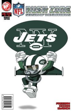 NFL Rush Zone: Season Of The Guardians #1 - New York Jets Cover by Kevin Freeman. $3.99. Publisher: Action Lab Entertainment, Inc. (January 30, 2013). Series - Nfl rush zone