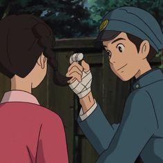 Disney Animation, Disney Pixar, Up On Poppy Hill, Studio Ghibli Movies, Fictional World, Cute Anime Boy, Hayao Miyazaki, Aesthetic Images, Manga