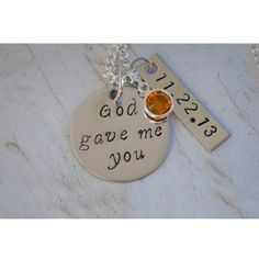 God Gave Me You Necklace - $35.00