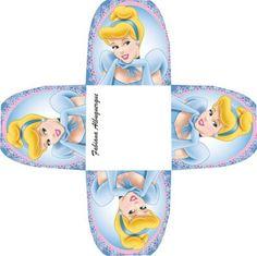 Ballerina Birthday Parties, Cinderella Birthday, Hen Night Ideas, Paper Folding Crafts, Primitive Doll Patterns, Printable Box, Disney Princess Party, Diy Gift Box, Party In A Box
