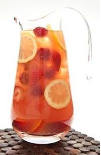 The Fruity-Tutti Iced Tea, a ruby red iced tea with maximum flavour!  The healthy alternative to red cordial that won't send the kids wild. Refreshing for young and old.  Find the recipe at our Healthy Living Hub mbsfestival.com.au/hub.htm