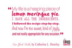 A taste of New York Dolls by Catherine L. Hensley.