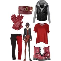 Casual cosplay of Shin (from Amnesia anime series)-- character inspired outfit