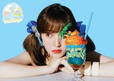 Red Velvet poses with their unique drinks in new 'Summer Magic' teasers! ⋆ The latest kpop news and music Wendy Red Velvet, Red Velvet Irene, Seulgi, J Pop, Park Sooyoung, Kpop Girl Groups, Kpop Girls, Red Velvet Photoshoot, Magic S