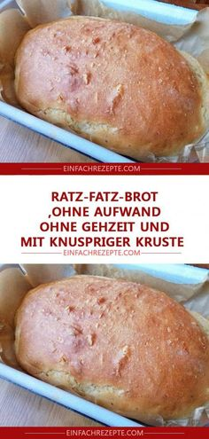 Ratz-Fatz bread without effort, without walking time and with crispy .- Ratz-Fatz-Brot ohne Aufwand, ohne Gehzeit und mit knuspriger Kruste 😍 😍 … Ratz-Fatz-bread without effort, without walking time and with crunchy crust 😍 😍 😍 - Healthy Snacks Before Bed, Healthy Toddler Snacks, Snacks For Work, Healthy Snacks For Kids, Easy Snacks, Healthy Desserts, Healthy Dinner Recipes, Easy Meals, Snacks Recipes