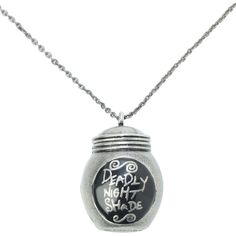 The Nightmare Before Christmas Deadly Night Shade Necklace | Hot Topic and other apparel, accessories and trends. Browse and shop 8 related looks.