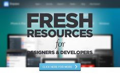 Fresh Resources for Designers and Developers – July 2014
