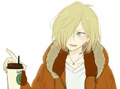 Waaaaaaaa so cuteeee Me Me Me Anime, Anime Guys, Hot Anime, Yurio And Otabek, Yuri Katsuki, ユーリ!!! On Ice, Yuri Plisetsky, Leo Valdez, Yuri On Ice