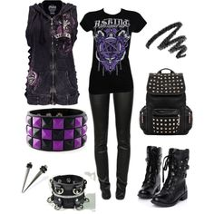"""Untitled #7"" by black-veil-brides-cxlix on Polyvore"