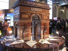 Salon du Chocolate Festival in Paris. Chocolatey heaven.