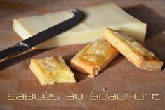 Recette de sablés au Beaufort : des gâteaux apéritif maison croustillants et fondants au délicieux fromage, pour être sûr de régaler vos invités !