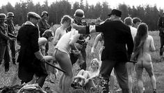 Kyiv, September 1941. Babi Yar. Western Ukrainians were killed: Jews, Russian, Belarusians, Ukrainians. they have fun doing it with pleasure and a twinkle