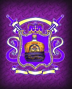 another royal crown logo i did but soro type
