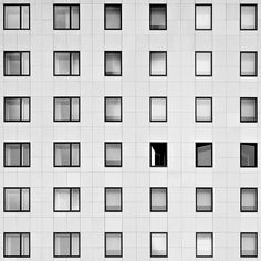 Architecture, Lyon.© Thomas Perréon featuring this great architecture photographer >thomasperreonModuleplacingwindows. You gotta love ...