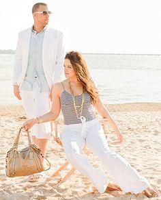 Beachy photo shoot