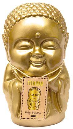 BABY BUDA FELICIDAD <3 Chakras, Irene, Reiki, Buddha, Japan, Statue, Plastering, Enamels, Santos