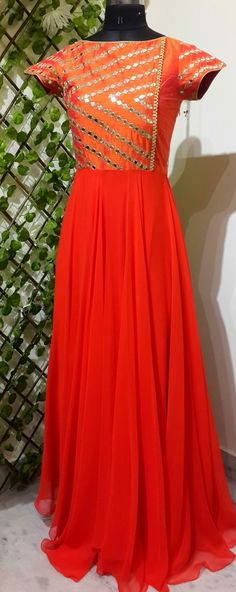 Gain Indian Gowns, Indian Attire, Indian Ethnic Wear, Indian Outfits, Anarkali Dress, Anarkali Suits, Punjabi Suits, Kurti Designs Party Wear, Retro Dress