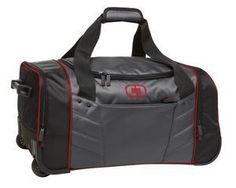 "OGIO® - Hamblin 30"" Wheeled Duffel. 413010/SM. $106.00 each. #sports #duffel #ogio #baseball"