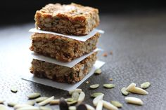 #paleo #protein bars - I tried this recipe & its amazing! SO easy & DELICIOUS!