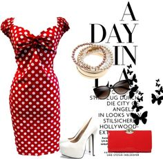 """""""A day in LA"""" by anvalentina ❤ liked on Polyvore"""