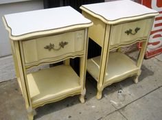 French Provincial night stands