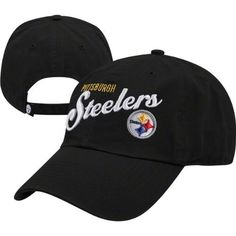 Pittsburgh Steelers Women's Black '47 Brand Audry Adjustable Hat by '47 Brand. $20.99