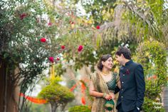 It begun with a coincidence and culminated at a destination at the breathtaking Surajkand farmhouse. With such light moments and the beautiful greenery around, how can a picture not be frame worthy!Richa & Pulkit, Delhi