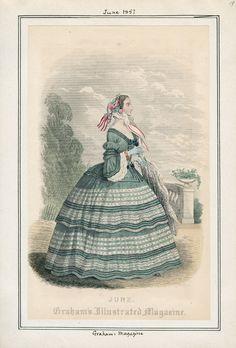 Graham's Magazine June 1857 LAPL