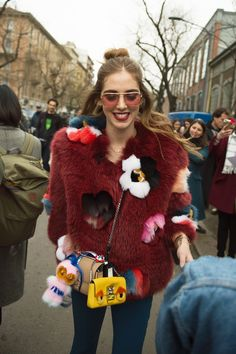 See All the Best Street Style from Milan Fashion Week: Chiara Ferragni
