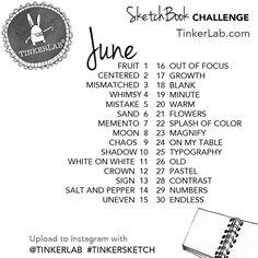 instagram tinkersketch challenge june 2015