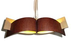 Hanging lamp with natural wood texture4 by zyrRafo on Etsy