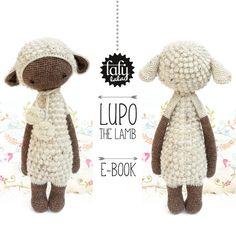 LUPO l'agneau / mouton  lalylala patron au crochet /