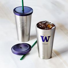 Starbucks UW Collection Stainless Steel Cold Cup, 16 fl oz