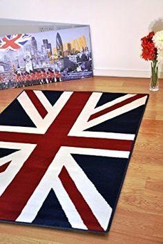 Union Jack rug for the boys room