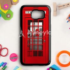 London Telephone Booth Samsung Galaxy S6 Case | armeyla.com