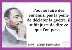 Martin Luther King l'a vite compris...