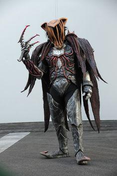 Monster Design, Kamen Rider, Samurai, Folk, Monsters, Popular, Forks, Folk Music, Samurai Warrior