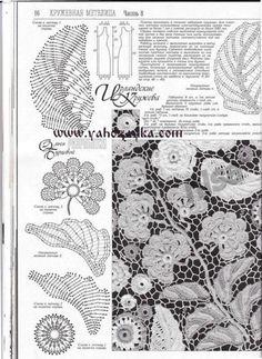Сапожки ирландским кружевом крючком. Подборка схем для вязания сапожок+ ИК | Я Хозяйка