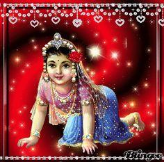 Krishna Gif, Cute Krishna, Krishna Radha, Durga Maa, Hanuman, The Mahabharata, Radha Rani, Indian Gods, Lord Shiva