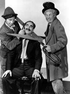 At the Circus, Chico Marx, Groucho Marx, Harpo Marx, 1939