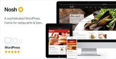 Nosh 2.11 - Restaurant and Bar WordPress Theme