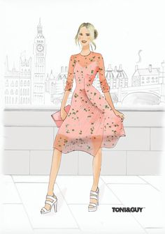 Misty Lang Fashion Illustration  mistylang.com/... Fashion Illustration Fashion… Editorial, Sketches, Portrait, Disney Princess, Disney Characters, Illustration, Fashion Design, Art, Drawings