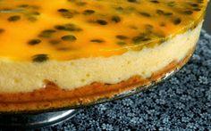 Pitadinha: Torta de maracujá sem açúcar e sem lactose