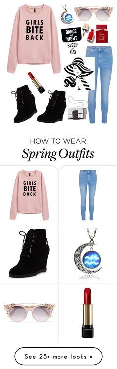 """Outfit"" by dream-a-wish on Polyvore featuring MICHAEL Michael Kors, Jimmy Choo, Lancôme and Bella Freud"