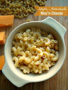 Simple Homemade Mac'