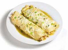 Weight Watchers Recipes - Chicken Enchiladas Verde