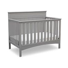 Delta Children Fancy 4-in-1 Convertible Crib - Gray