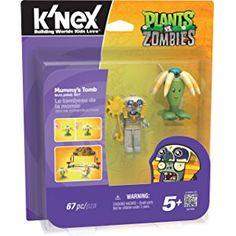 K'NEX Plants vs. Zombies - Mummy's Tomb Building Set