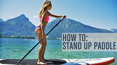 Want to try Stand Up Paddling, but not sure what it is all about. Check out this video for some great tips that will have you in the water and on the #SUP Board in no time! This is #Runtastic Fitness Coach Lunden's FAVORITE #summer activity.